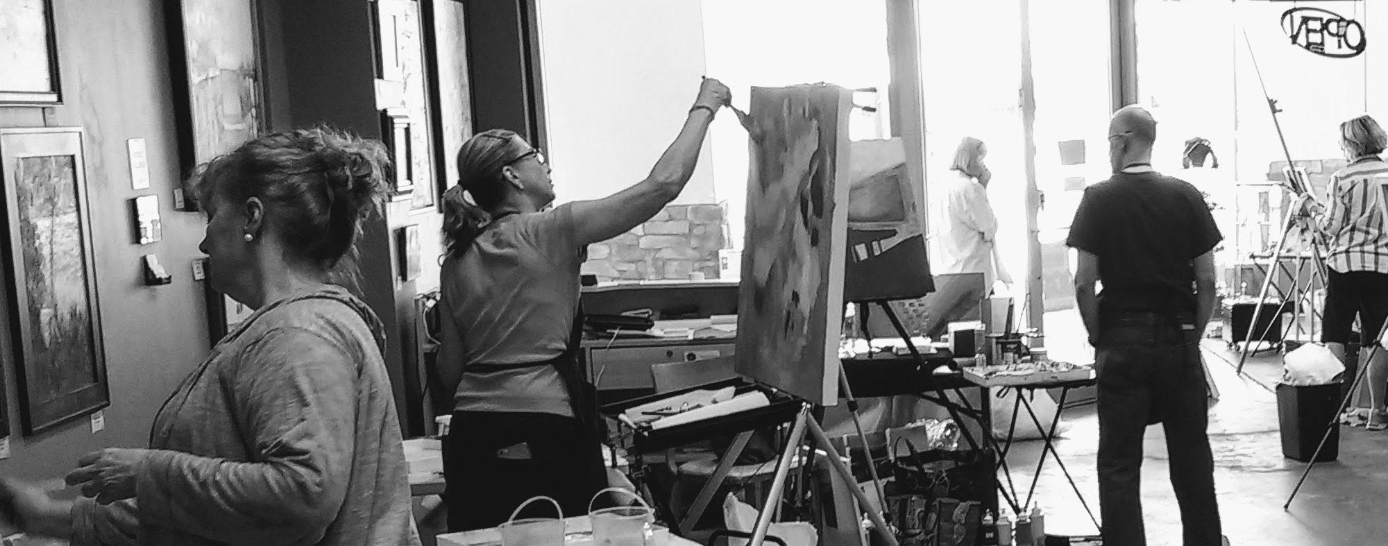 Painting Miles Workshops