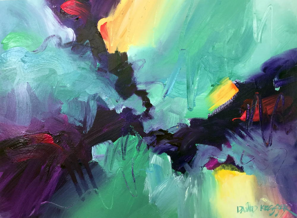 Abstract Painting By David Kessler