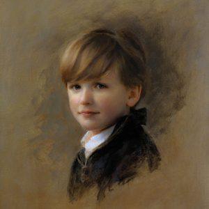 Portrait by Louis Carr